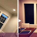 Before After Solar Shades